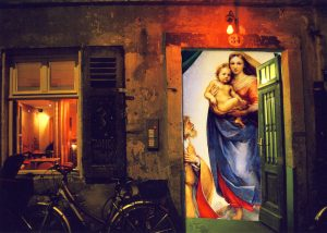 Postkartencollage Dresden von Petra Moiser