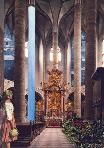Postkartencollage Serie Salzburg von Petra Moiser