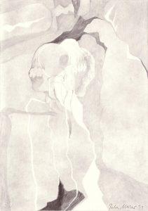 Zeichnung Mutterliebe von Petra Moiser